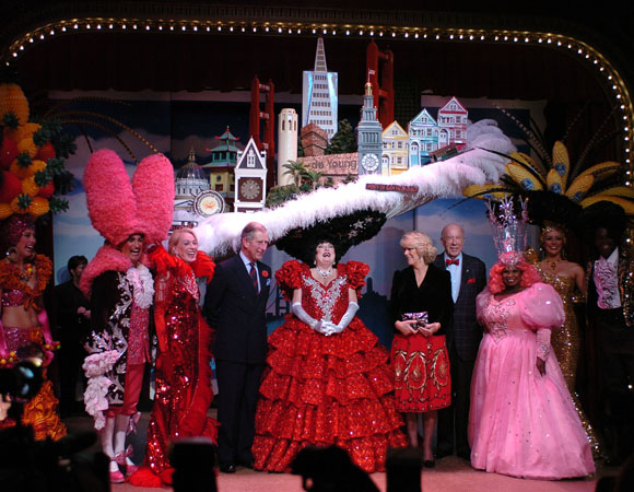 <p>2005: Prince Charles and Camilla attended a special performance of <em>Beach Blanket Babylon</em> during their trip to San Francisco nearly one decade ago.</p><br />(courtesy of the show)