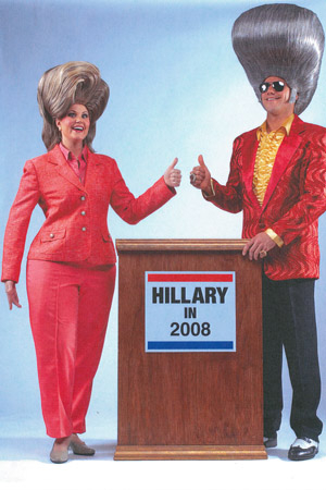 <p>2008: Bill and Hillary Clinton parodies made their way to the San Francisco stage in honor of Hillary&#39&#x3B;s famous Presidential campaign. </p><br />(courtesy of the show)