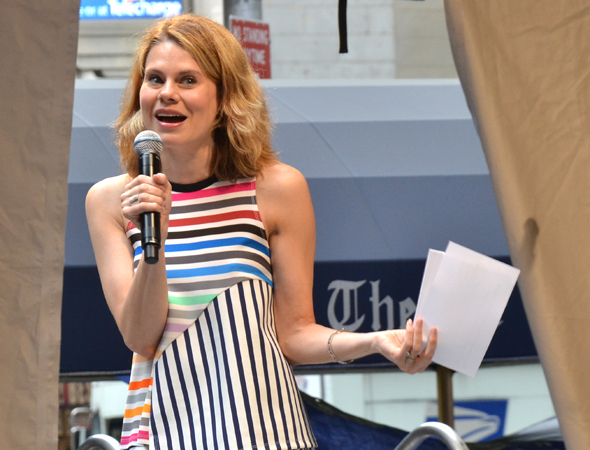 <p>2014 Tony nominee Celia Keenan-Bolger represents last fall&#39&#x3B;s revival of <em>The Glass Menagerie</em>.</p><br />(© David Gordon)