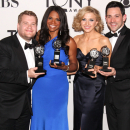 PHOTO FLASH: Nina Arianda, Christian Borle, Hugh Jackman, Judith Light, Audra McDonald in the Tony Awards Winners Circle