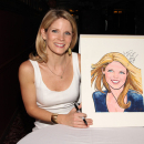 PHOTO FLASH: 2012 Tony Award Nominee Kelli O'Hara Receives Sardi's Caricature