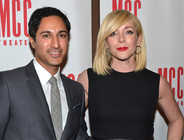 <p><em>30 Rock</em> favorites Maulik Pancholy and Jane Krakowski were each other&#39&#x3B;s dates for the event.</p><br />(© David Gordon)