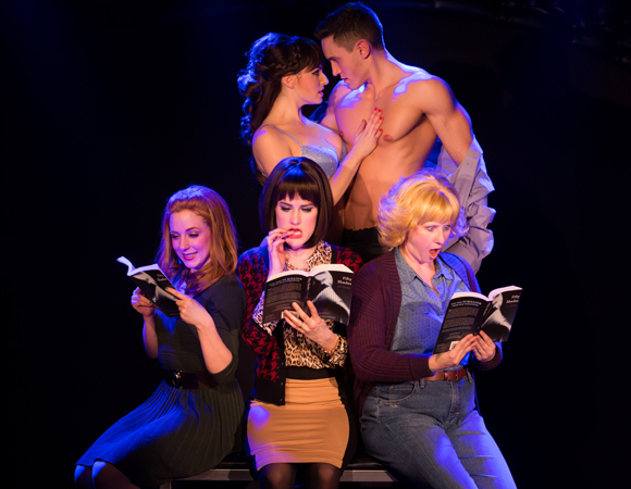 <p><em>50 Shades! The Musical — The Original Parody</em> opens on March 12 at the Elektra Theatre.</p><br />(© Matthew Murphy)