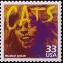 Commemorative Stamp for Cats