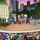 Shakespeare in The Park Stars on The Simpsons