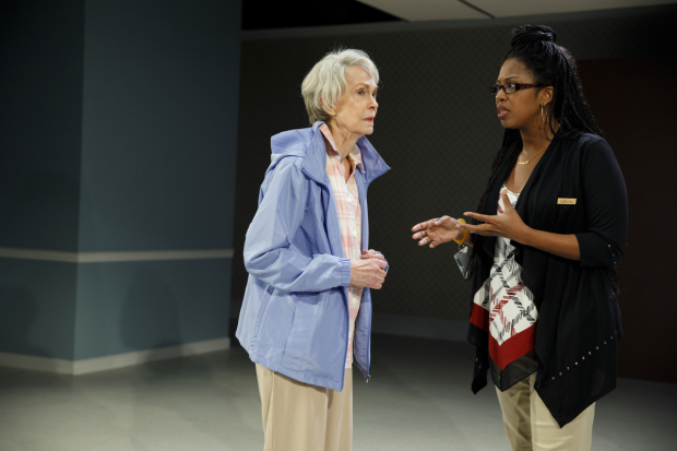 <p>Deanna Dunagan and Marinda Anderson share the stage.</p><br />(© Joan Marcus)