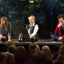 Sandy Duncan Revisits Peter Pan with Broadway's Peter and the Starcatcher Cast