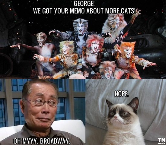 Broadway Hasn't Boldly Gone Where it Needs To Go: George Takei on Cat Photos, Facebook, and What Broadway Needs Now
