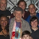 Waiting for Godot and No Man's Land Star Sir Ian McKellen Visits Broadway's Newsies