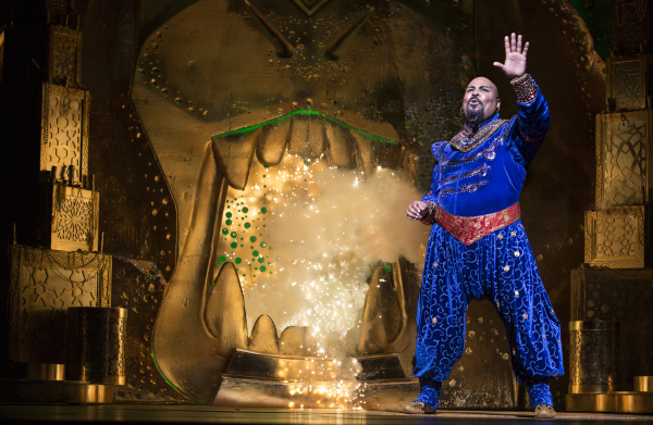 <p>James Monroe Iglehart takes on the role of Genie.</p><br />(© Cylla von Tiedemann)