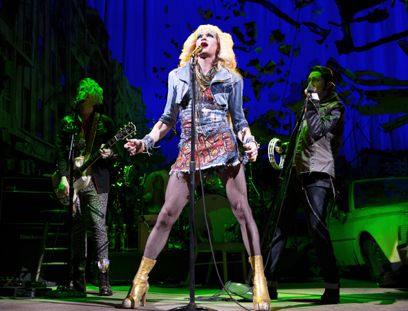 <p>Neil Patrick Harris as Hedwig in <em>Hedwig and the Angry Inch</em>.</p><br />(© Joan Marcus)