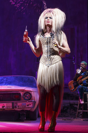 <p>NPH in one of Hedwig&#39&#x3B;s many different wigs.</p><br />(© Joan Marcus)