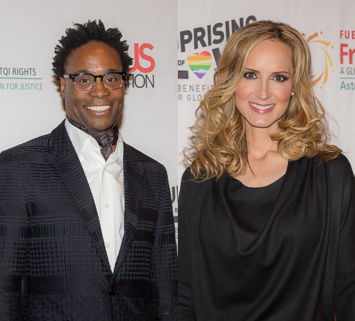 <p>Country-music star Chely Wright and <em>Kinky Boots</em> favorite Billy Porter were some of the fabulous performers of the evening.</p><br />(© Seth Walters)