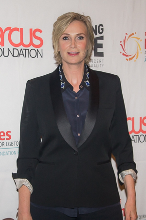<p>Jane Lynch, the host of the evening.</p><br />(© Seth Walters)