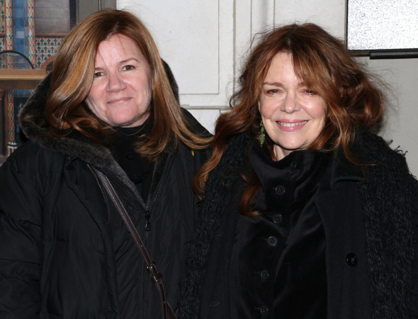 <p>Stage and screen vets Mare Winningham and Deirdre O&#39&#x3B;Connell are excited to cheer on their <em>Affair</em> cohort Ruth Wilson. </p><br />(© David Gordon)