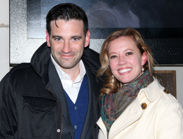 <p>Colin Donnell (seen here with his fiancée, Patti Murin) plays Ruth Wilson&#39&#x3B;s brother-in-law on Showtime&#39&#x3B;s <em>The Affair</em>.</p><br />(© David Gordon)