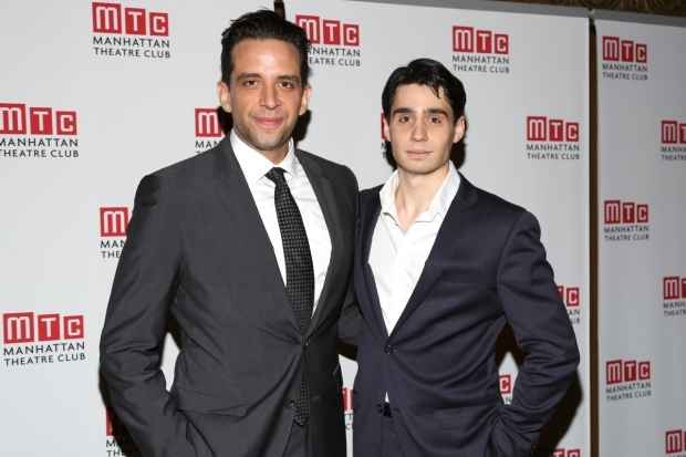 <p><em>A Bronx Tale</em>&#39&#x3B;s Nick Cordero and Bobby Conte Thornton performed.</p><br />(© Tricia Baron)