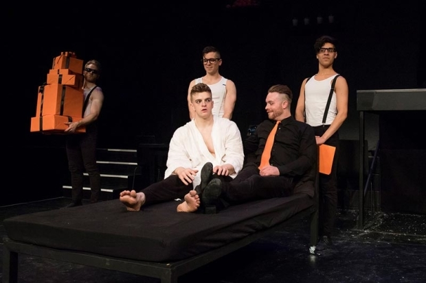 <p><em>A Clockwork Orange</em> opened September 25.</p><br />(© Caitlin McNaney)