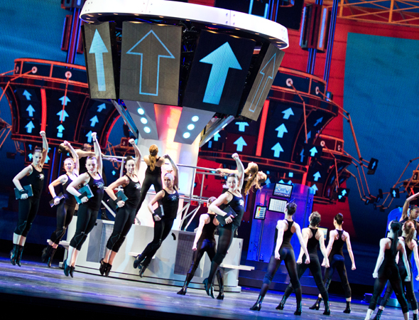 <p>A look at the Rockettes in action.</p><br />(© David Gordon)