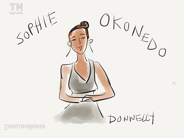 <p><em>A Raisin in the Sun</em>&#39&#x3B;s Tony Award winner for Best Featured Actress Sophie Okonedo. </p><br />(© Liza Donnelly)