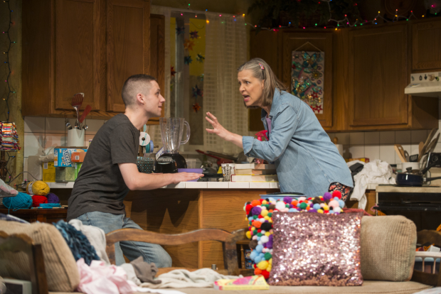 <p>A spirited conversation between Ty Olwin and Amy Morton.</p><br />(© Michael Brosilow)