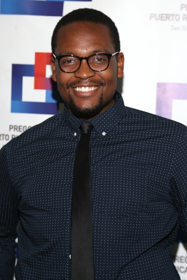 <p>Aaron Michael Ray stars in <em>Spamilton</em>.</p><br />(© Tricia Baron)