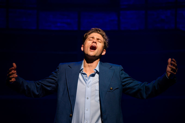 <p>Aaron Tveit stars as Robert.</p><br />(© Daniel Rader)