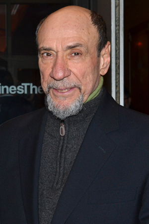 <p>Academy Award winner F. Murray Abraham is always a welcome presence at Broadway opening nights.</p><br />(© David Gordon)