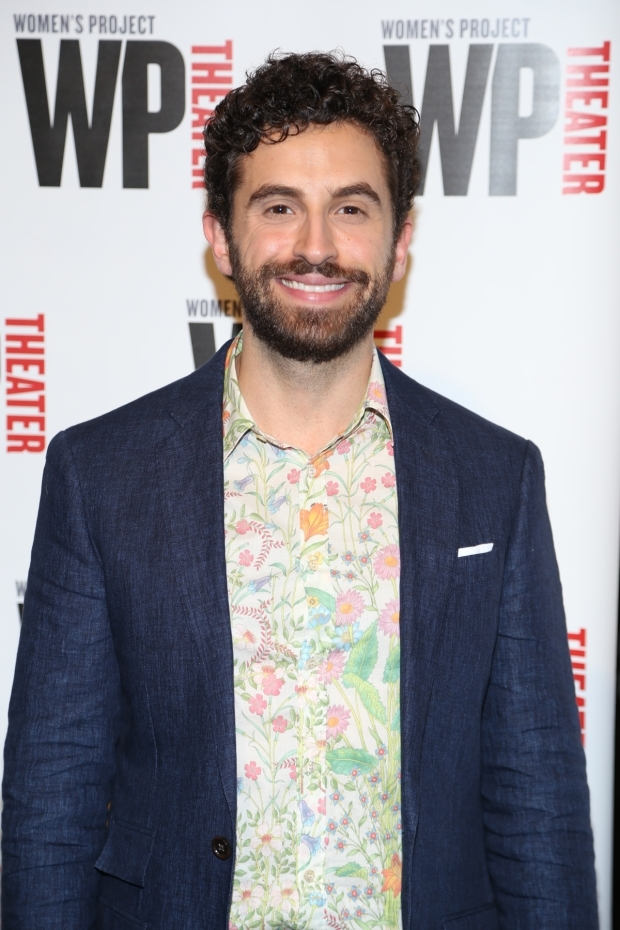 <p>Brandon Uranowitz appeared in <em>Falsettos</em> on Broadway.</p><br />(© Tricia Baron)