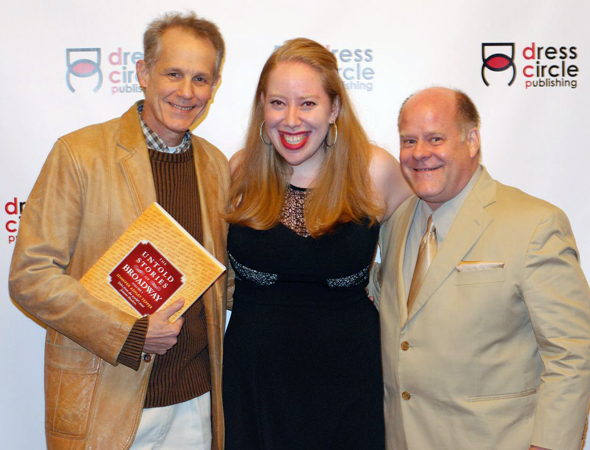 <p>Actors Jim Walton and Don Stitt are glad to join Tepper to celebrate.</p><br />(© Kristin Goehring)