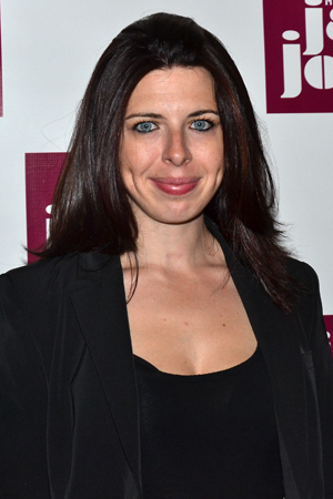 <p>Actress Heather Matarazzo (<em>Welcome to the Dollhouse</em>) makes her way to the after-party.</p><br />(© David Gordon)