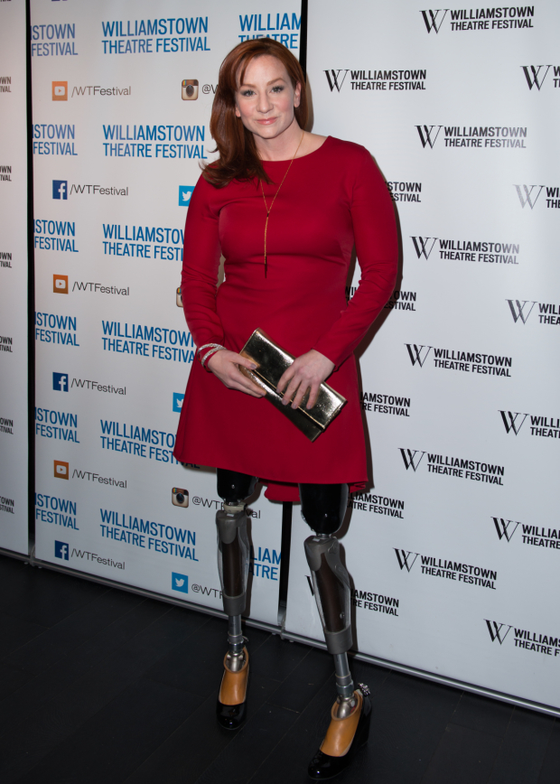 <p>Actress Katy Sullivan made an appearance.</p><br />(© Allison Stock)