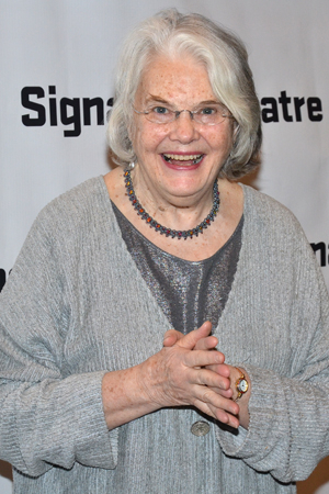 <p>Actress Lois Smith is always thrilled to be at a Signature opening night.</p><br />(© David Gordon)