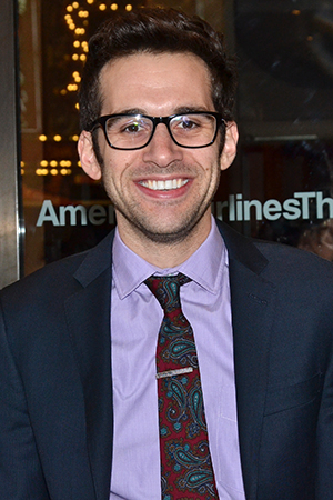 <p>Adam Chanler-Berat wore violet for <em>Violet</em>.</p><br />(© David Gordon)