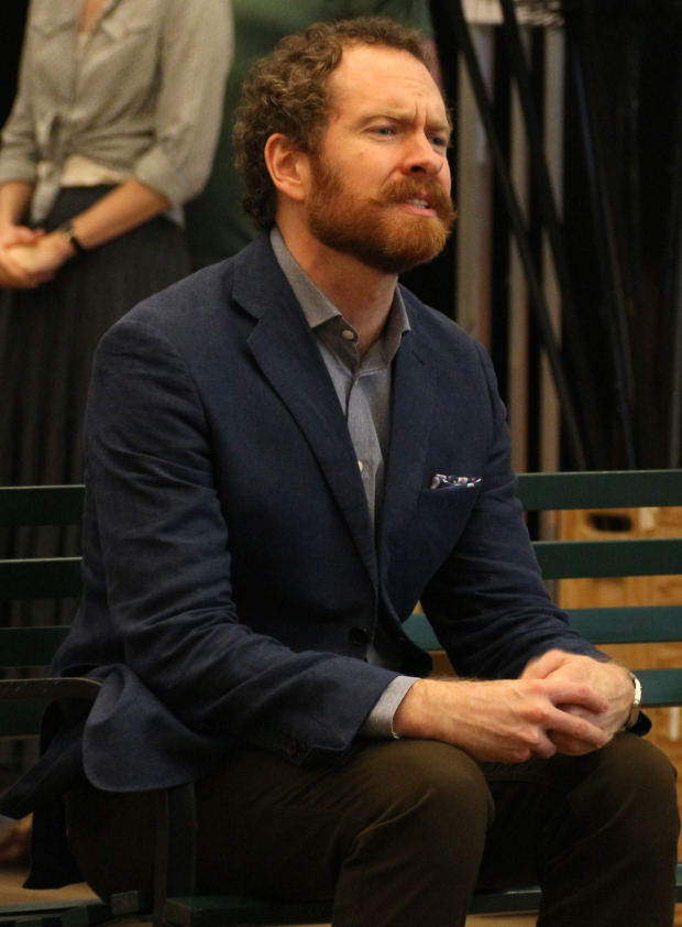 <p>Adam Monley takes on the role of George Banks.</p><br />(&copy&#x3B; David Gordon)