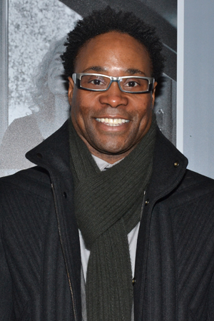<p>After a matinee of <em>Kinky Boots</em>, Tony winner Billy Porter headed over to the Stephen Sondheim Theatre for the opening night of <em>Beautiful</em>.</p><br />(© David Gordon)