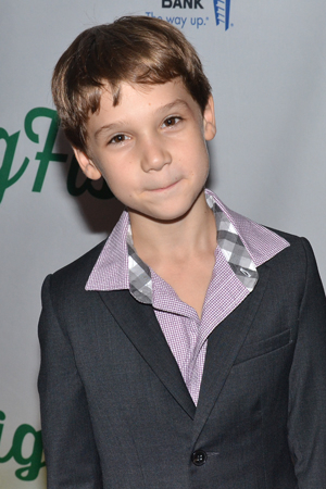 <p>After appearing in <em>Chaplin</em>, young Zachary Unger returns to Broadway in <em>Big Fish</em>.</p><br />(© David Gordon)