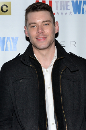 <p>After starring on Broadway in <em>The Glass Menagerie</em>, Brian J. Smith gets to check out a different show.</p><br />(© David Gordon)