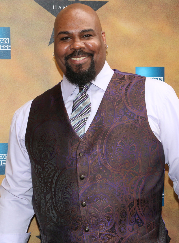<p><em>Aladdin</em> Tony winner James Monroe Iglehart is a member of the group Freestyle Love Supreme with <em>Hamilton</em> leading men Lin-Manuel Miranda and Christopher Jackson.</p><br />(© David Gordon)