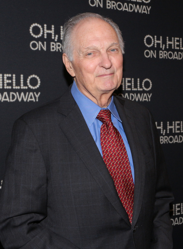<p>Alan Alda was the special guest star of the opening-night performance of <em>Oh, Hello on Broadway</em>.</p><br />(© David Gordon)