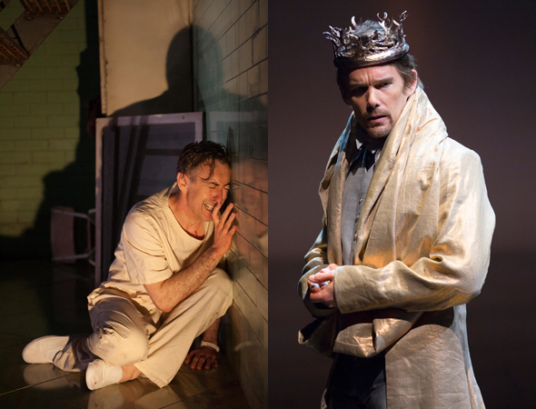 <p>Alan Cumming and Ethan Hawke as Macbeth</p><br />(photos courtesy of the productions)