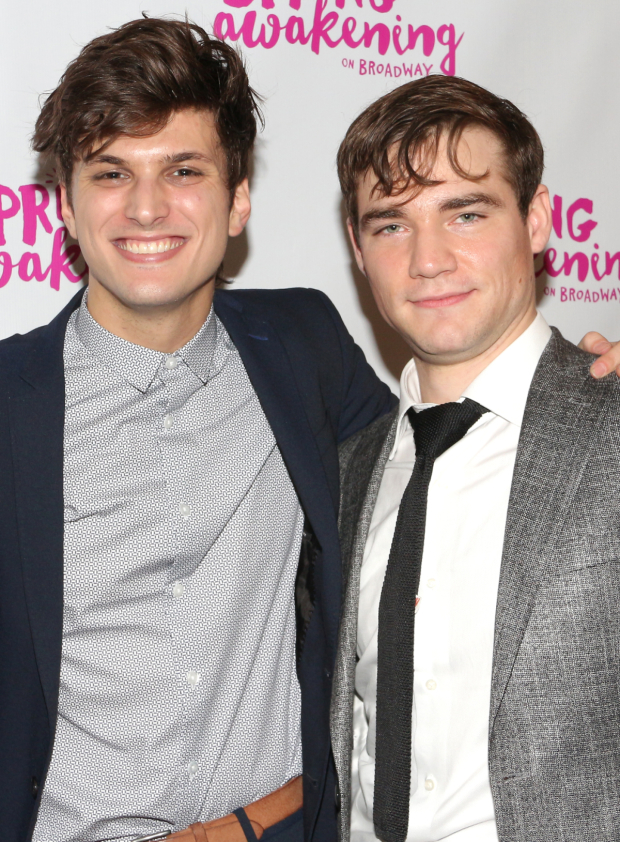 <p>Alex Boniello (left) provides the voice of Moritz, a role played by Daniel N. Durant (right).</p><br />(© David Gordon)
