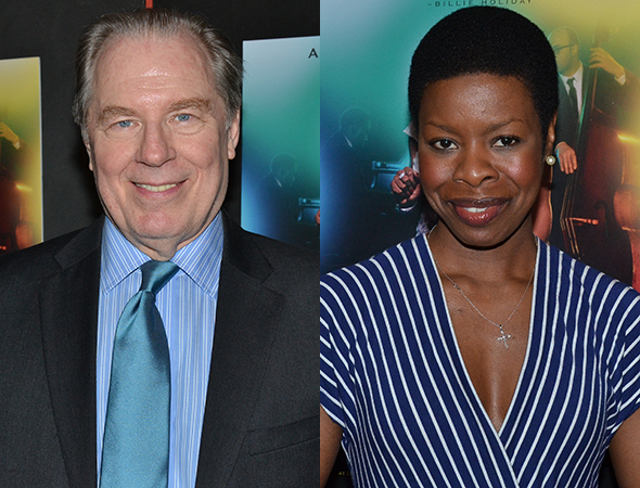 <p><em>All the Way</em> was represented by stars Michael McKean and Roslyn Ruff.</p><br />(© David Gordon)