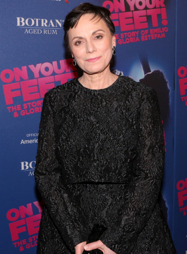 <p>Alma Cuervo takes on the role of Gloria Estefan&#39&#x3B;s grandmother in the musical.</p><br />(© David Gordon)
