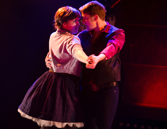 <p>Amber Petty and Tim Murray know it takes two to tango. </p><br />(© Matthew Murphy)