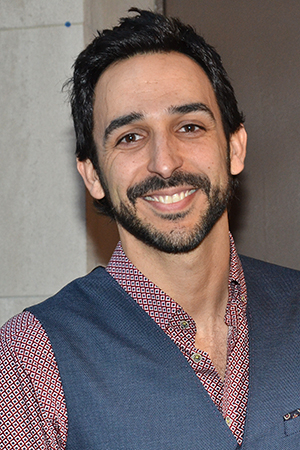 <p>Amir Arison of TV&#39&#x3B;s <em>The Blacklist</em> is ready for the show.</p><br />(© David Gordon)