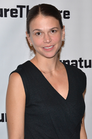 <p>Among the guests at the opening was Sutton Foster, who stars in Leigh Silverman&#39&#x3B;s upcoming revival of the musical <em>Violet</em>.</p><br />(© David Gordon)