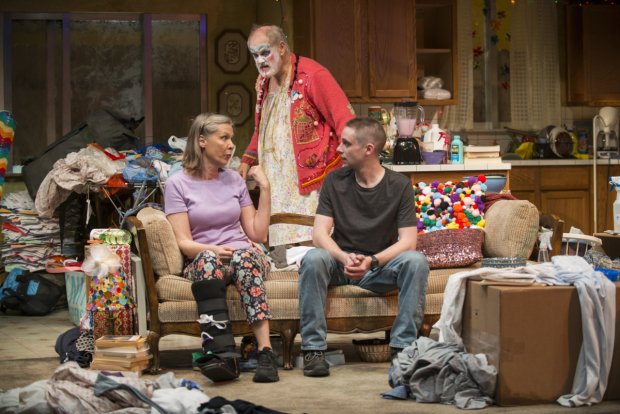 <p>Amy Morton, Francis Guinan, and Ty Olwin share a scene.</p><br />(© Michael Brosilow)