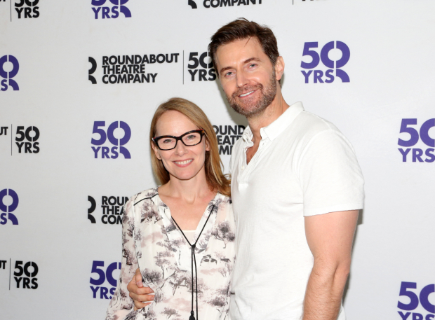 <p>Amy Ryan and Richard Armitage head the cast of Roundabout Theatre Company&#39&#x3B;s <em>Love, Love, Love</em>.</p><br />(© David Gordon)
