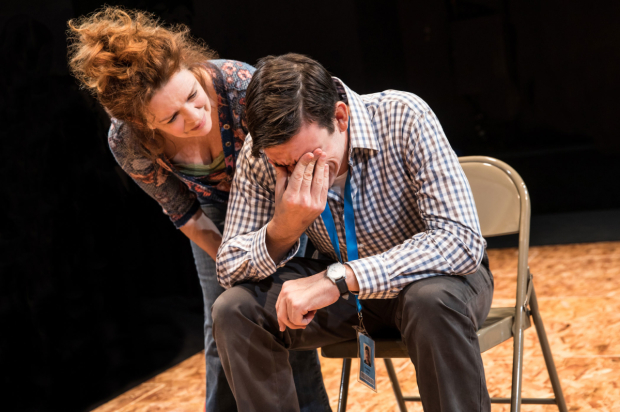 <p>An emotional moment between Deirdre O&#39&#x3B;Connell and Bobby Moreno.</p><br />(© Matthew Murphy)